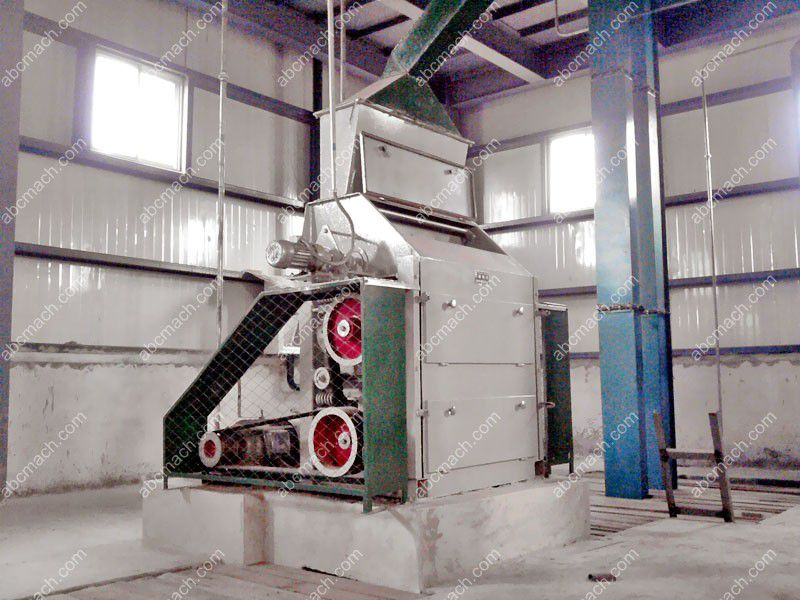 crushing process of oil milling
