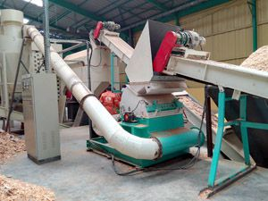 crushing unit of pellet plant