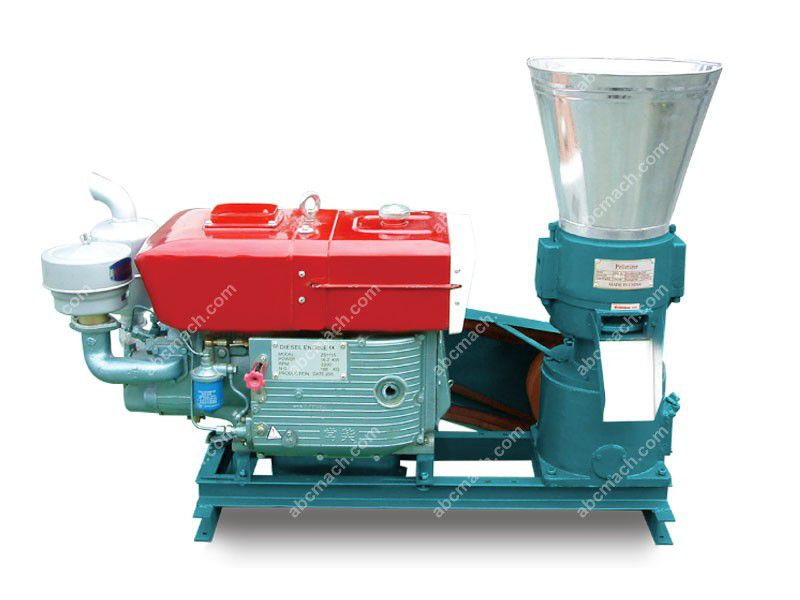 diesel animal feed pellet making machine for homw use