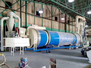 drying unit of pellet plant