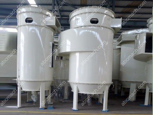 dust collector for corn milling