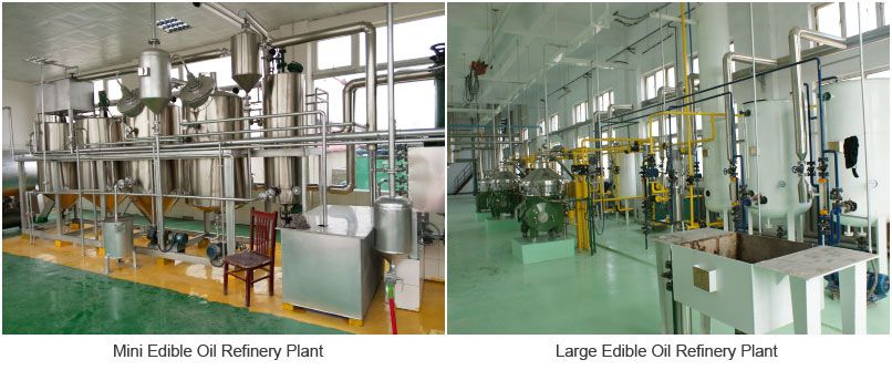 edible corn oil refinery plant