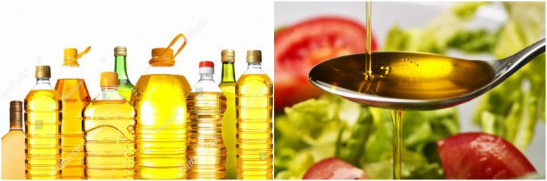 refined edible oils