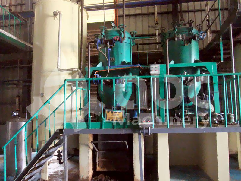 effecient leaf filter machine