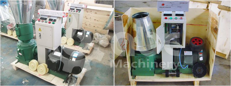 small sized electric animal feed pellet mill for home use