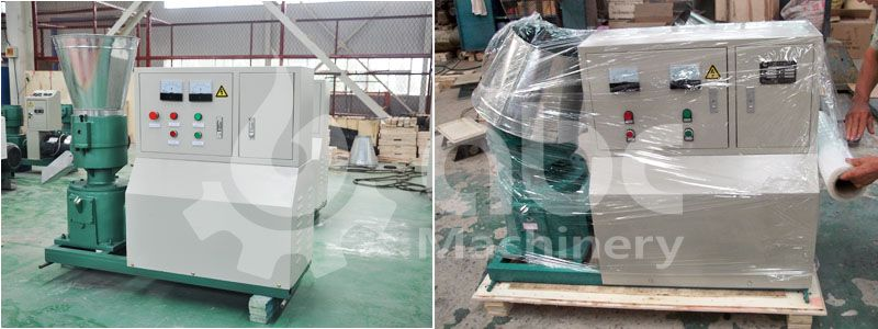 electric small poultry feed pellet mill for making pellets on farm