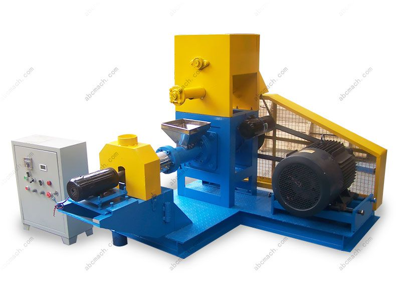 expanded fish feed extruder machine for making aquatic food