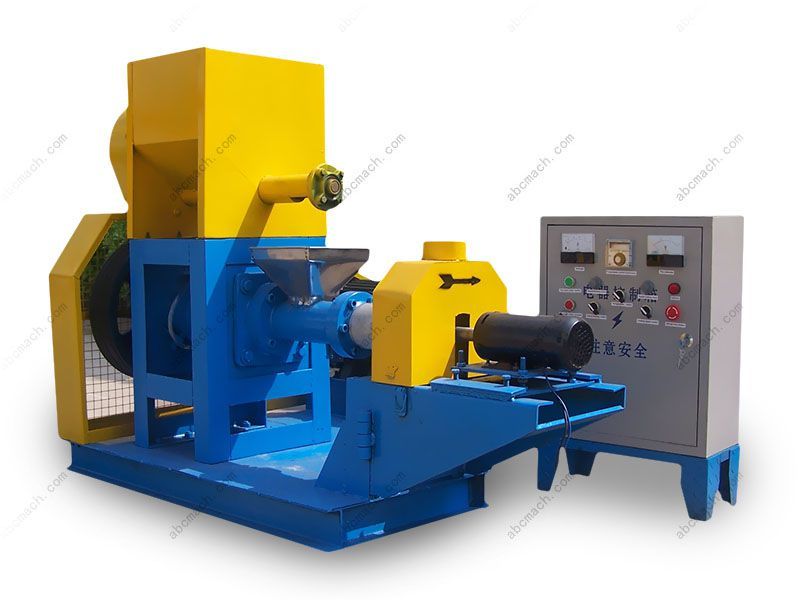 expanded floating fish feed extruder for sale at factory price