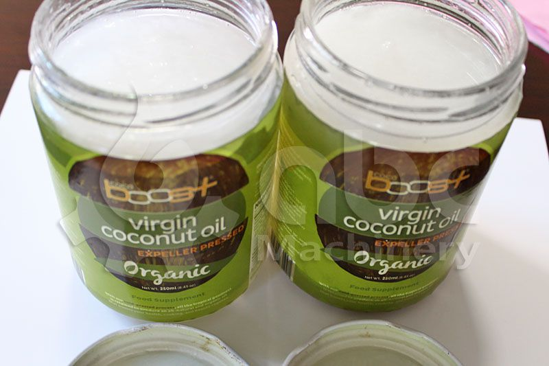 expeller pressed fresh coconut oil