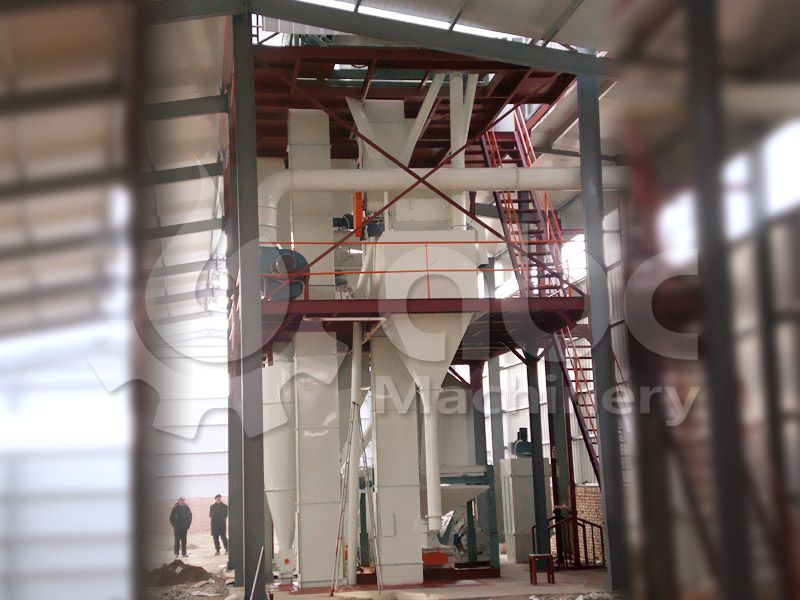 livestock and poultry feed mill plant designing and constructing
