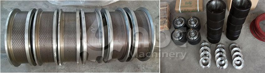 spare parts of ring die feed pellet making equipment