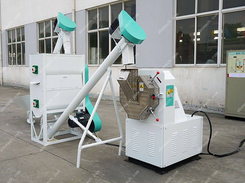 feed pellet production unit for making mini and small scale fodder pellets