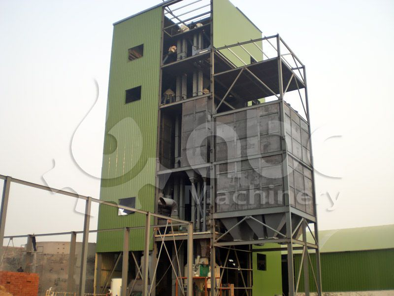 poultry and cattle feed processing line for medium and large production