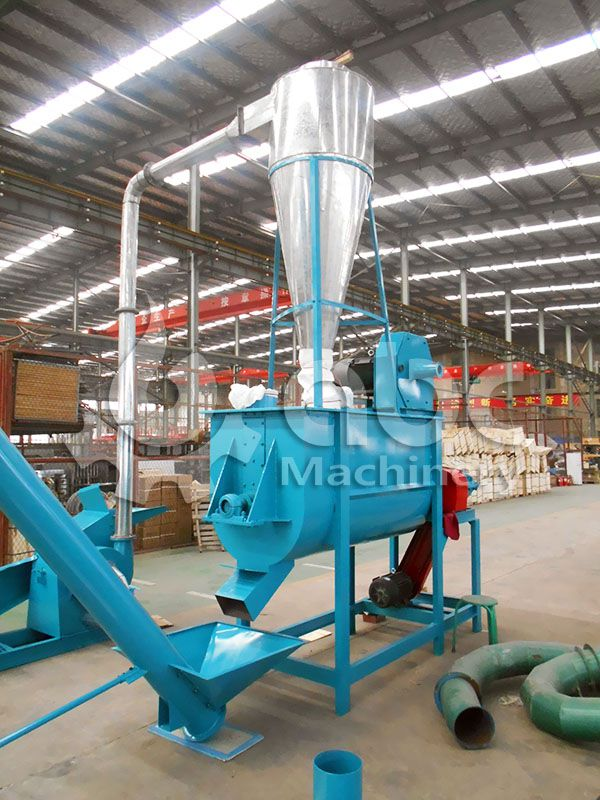 feedstuff mixing machine for mini feed plant