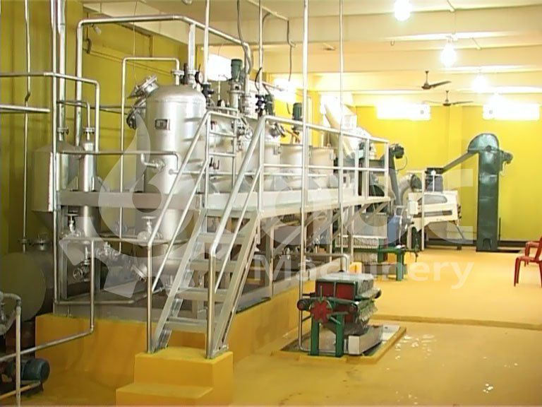 finished mustard oil plant established in india