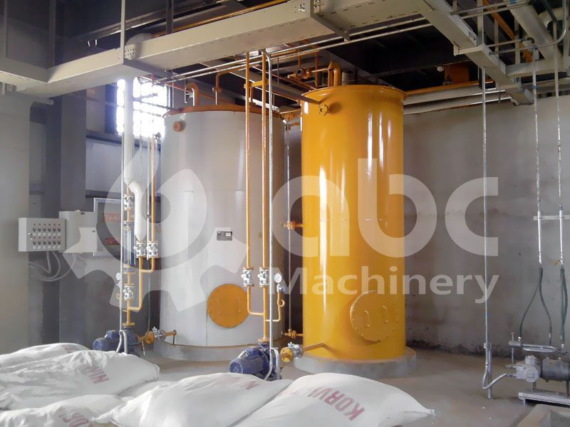 crude soya oil refining machinery
