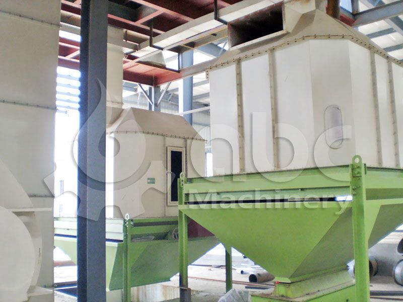 sinking aquafeed processing machine for large feed mill