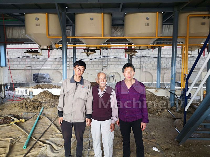 fish oil extraction project clients