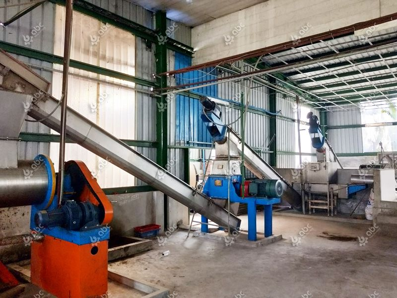 low cost fish oil production plant