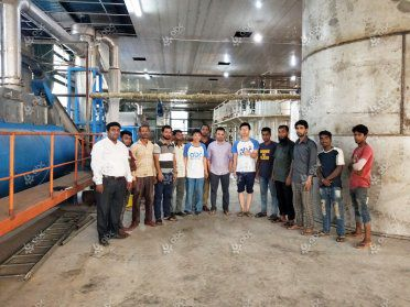 3ton/day Fish Oil Refinery Plant in Bangladesh