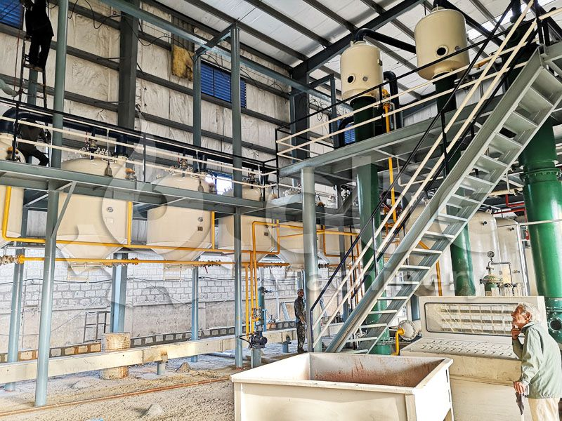 fish oil solvent extraction plant