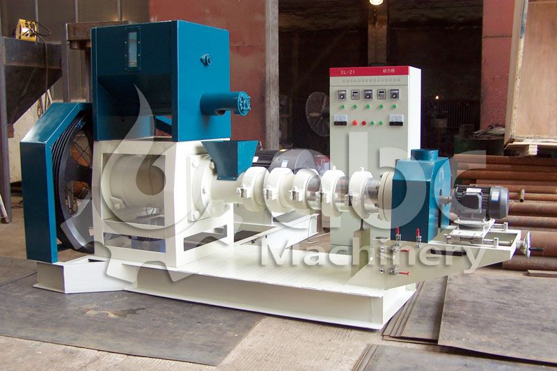 screw fish feed making machine for manufacturing floating aquatic food