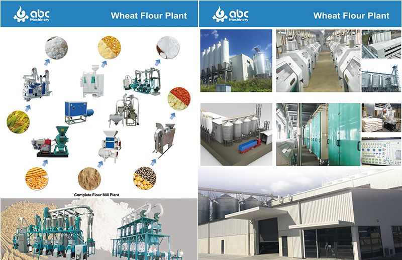 wheat / corn flour milling machines for sale