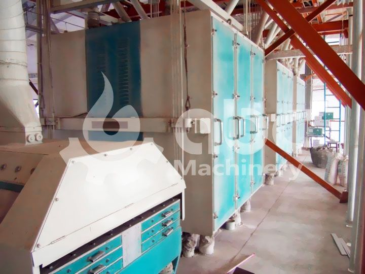 flour mill plant first floor