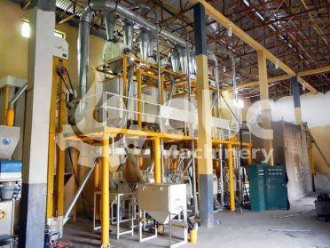 40TPD Small Wheat Flour Milling Plant Built in Ethiopia