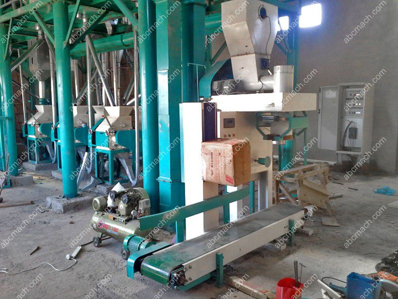 flour powder packing machine