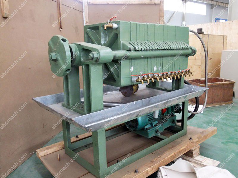 small scale cheap frame oil filter machine for mini oil production line