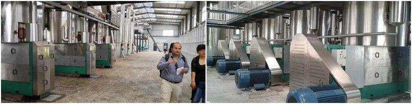 full oil milling plant for extracting sunflower seed oil