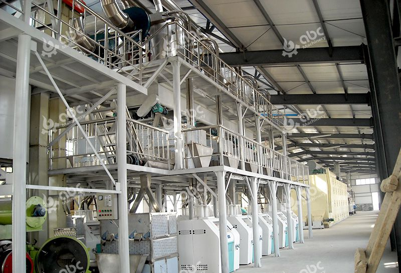 Fully Automatic Chili Powder Processing Plant