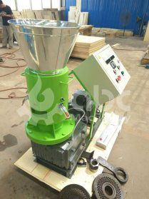 Thailand Client Bought Our Late-model Sawdust Pellet Machine