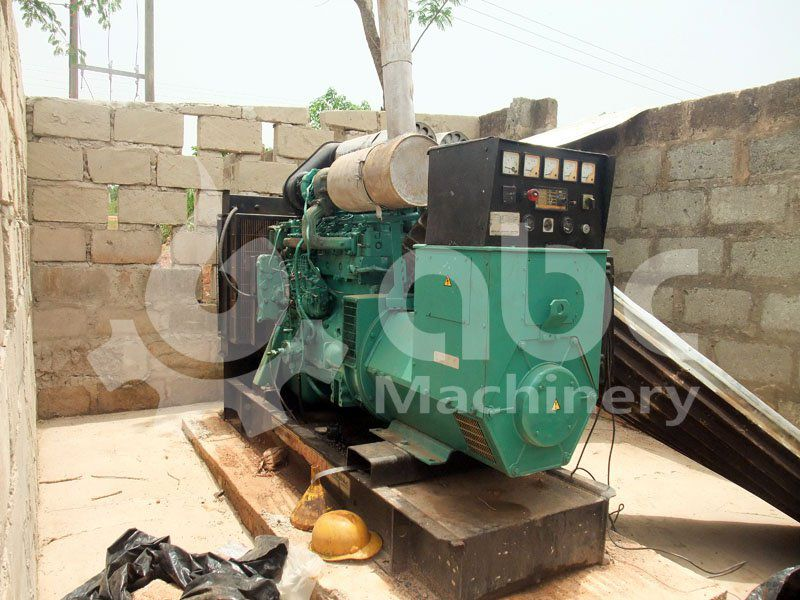 generator set of the small  factory
