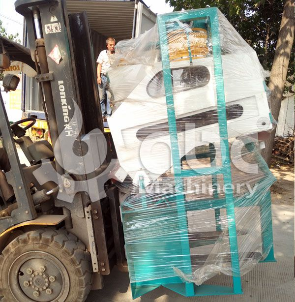 grain cleaning machinery for small flour mill