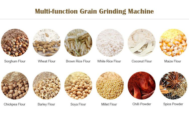 small grain grinding machine for sale at factory low price