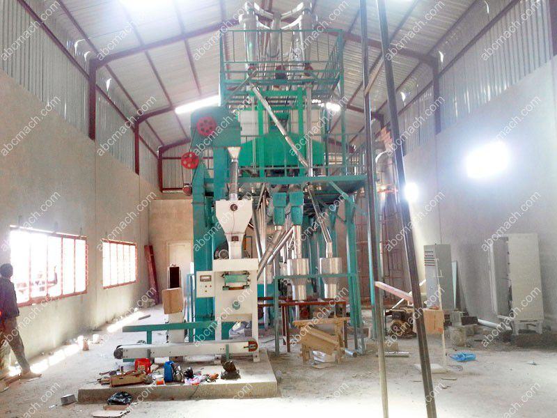 grain milling grinding system