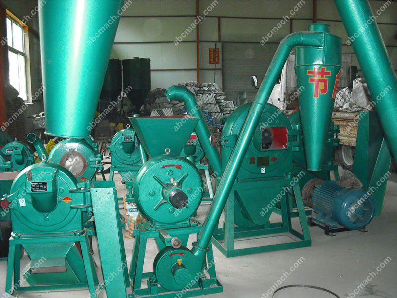 home use small grain milling machine with cyclone