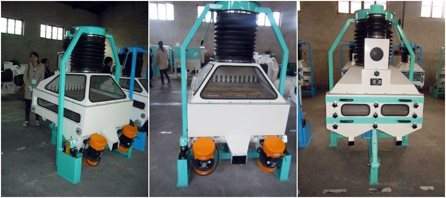 wheat seed stoning machine for cleaning plant