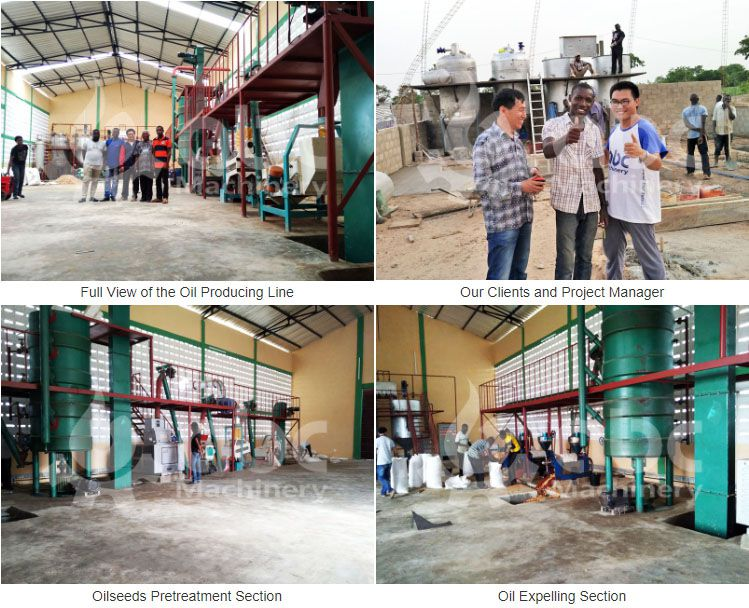 small groundnut oil manufacturing plant setup in Togo