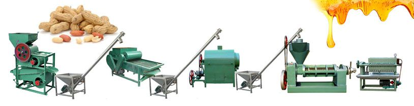groundnut oil mill machinery for small scale edible oil production line