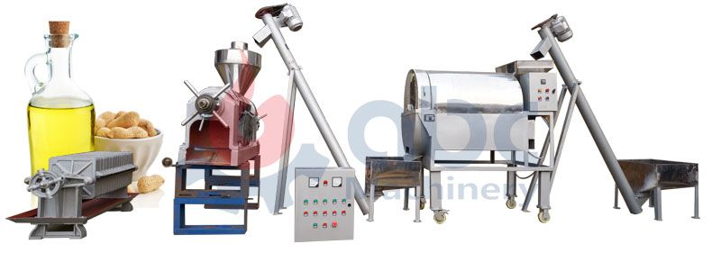 groundnut oil milling machine for small scale vegetable oil production