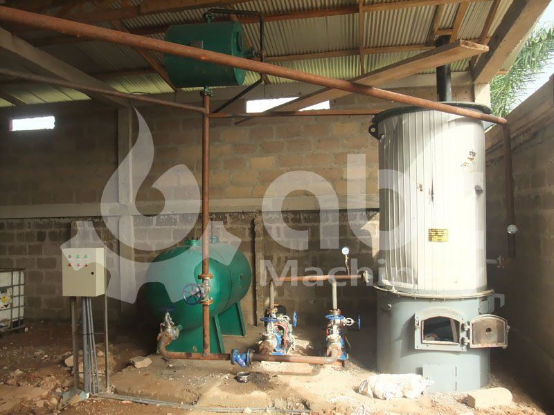 heat conducting oil furnace