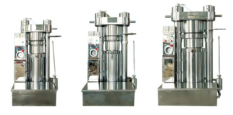 hydraulic oil press machine for sesame oil production