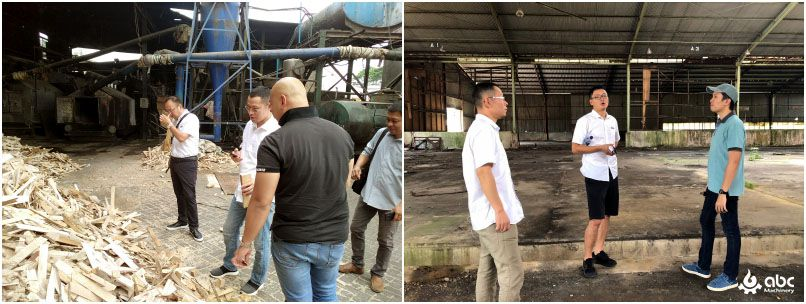 Indonesia wood pellet plant field trip