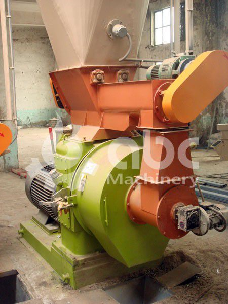 details of the large biomass wastes pellet mill machine for sale