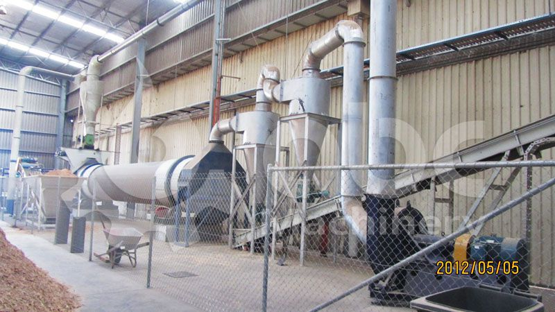 large scale wood pellet mill plant for making premium biomass pellets