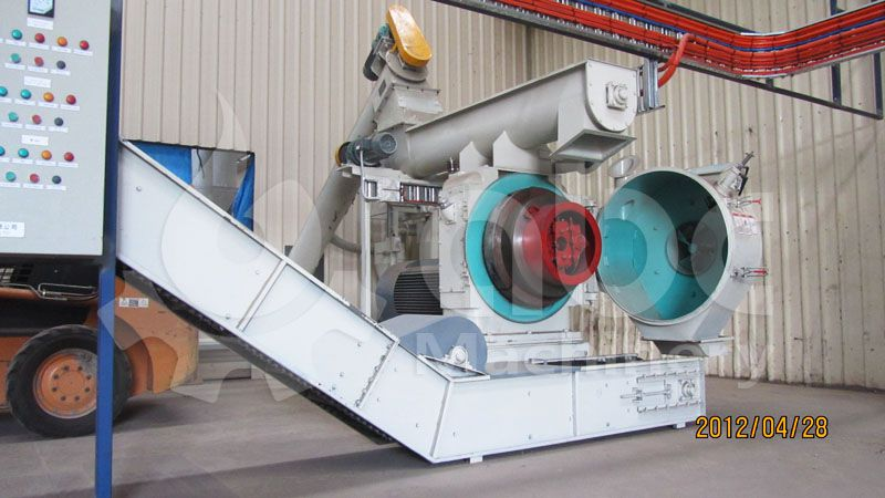 large wood pellet mill machine for industrial wood pellet line