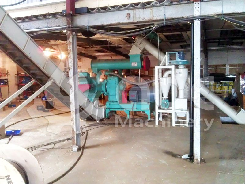 large wood pellet production equipment for industrial pellet plant